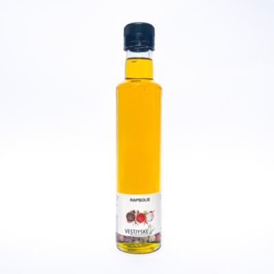 Koldpresset Rapsolie 250 ml.