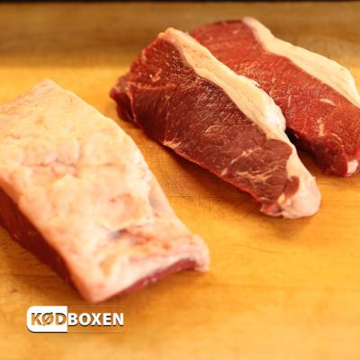 Kornfodret Striploin Steak fra Uruguay