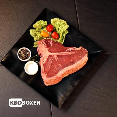 T-bone Steak 500 - 700 g. fra Dansk kødkvæg