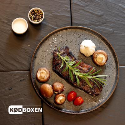 Kornfodret Striploin Steak fra Uruguay 240 - 280 gram