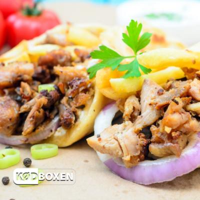 Grillet Kyllinge Kebab 1 kg
